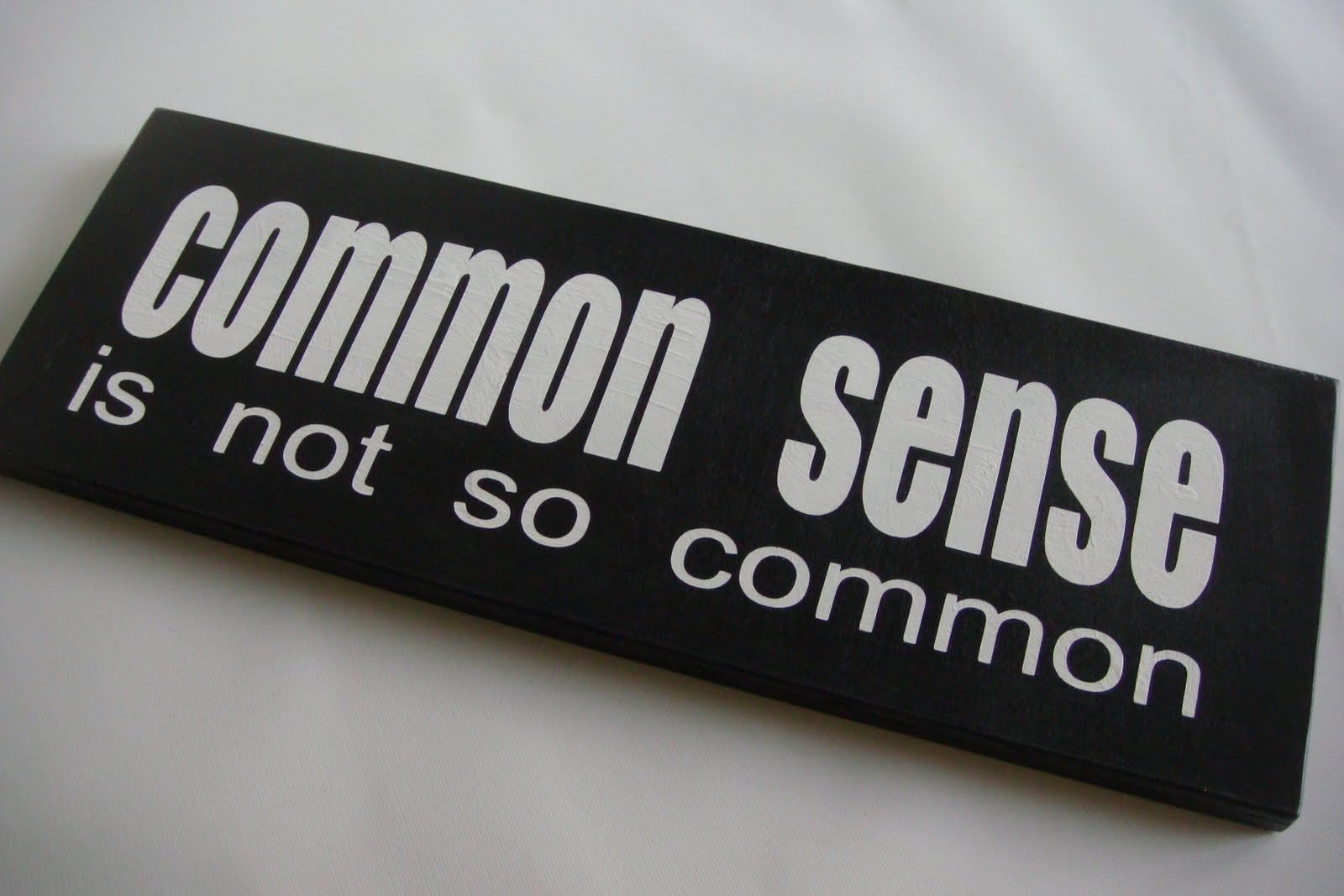 common sense is not so common essays From common app prompts to supplementary essays, we break down the  your  high school resume and choose something that the admissions committee will  not  colleges are looking for a sense of maturity and introspection—pinpoint the .