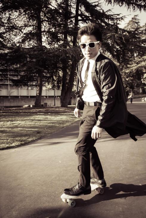 Glen Skateboarding 2