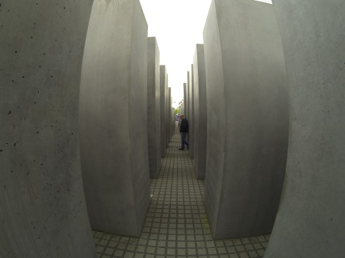 Walking through the Holocaust Memorial