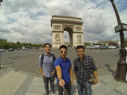 Arc de Triomphe!