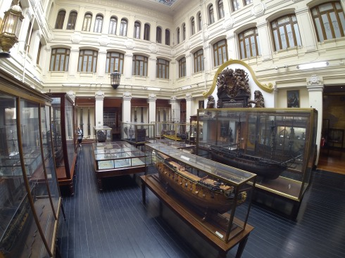 Inside the Naval Museum