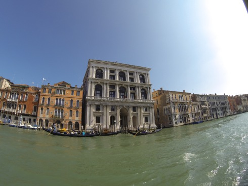 Old buildings of Venice